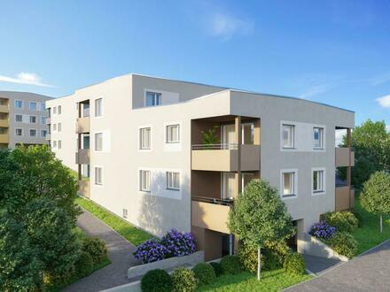 Optimal für Singles und Hausstandgründung! ERSTBEZUG - prov.freie 2-Zimmerwohnung mit Balkon, TG-Platz und Freistellplatz…
