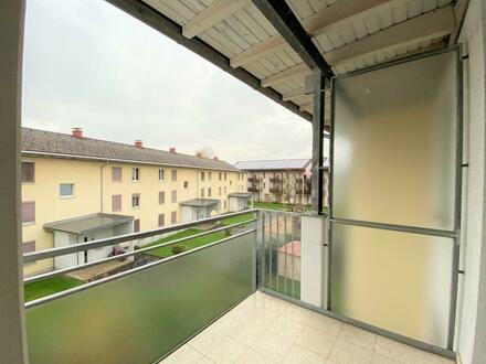 Praktische 3-Zimmerwohnung - optimal für Jungfamilien! Schlafzimmer und Balkon hofseitig ausgerichtet. Ab sofort, ohne…