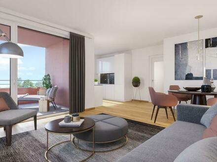 Genießen Sie den Komfort eines Neubaus! Naturnahe, grün und ruhig, geförderte Mietwohnung - nur wenige Schritte vom Marktplatz…