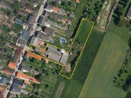 01. Orthofoto Nickelsdorf Baugrund Mischgebiet Woh