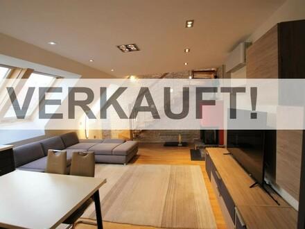 """""""Top moderne Designer-Dachgeschosswohnung mit Terrasse!"""""""