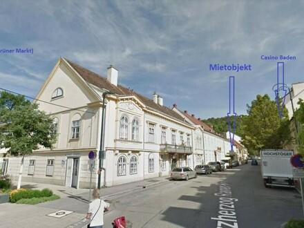 """""""100 m² Gewerbe-, Praxisfläche - Badener Zentrum!"""""""