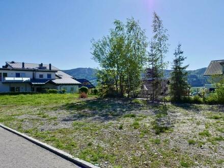 Baugrundstück mit Seeblick in Traumlage - 1.000 m² Grundstücksfläche - Zell am Moos