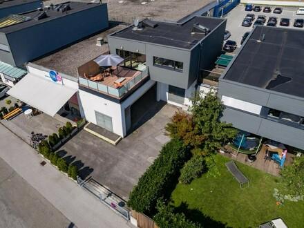 Gewerbeimmobilie inkl. neuwertiger 3 Zimmer Betriebswohnung mit ca. 75 m² Wnfl. - 5400 Hallein / Neualm