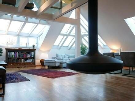 Luxuriöses Loft / Galeriewohnung in 1A Stadtlage - ca. 124 m² Wohnfläche - Salzburg / Maxglan