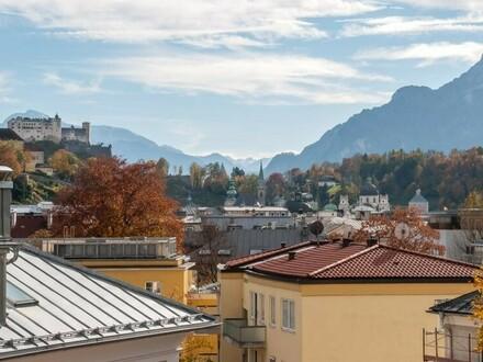NEUBAU! Luxuriöse 2-Zimmer Dachgeschosswohnung mit traumhaften Festungsblick 82,11 m² in 5020 Salzburg - Stadtteil Josefiau