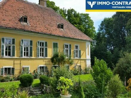 Wasserschloss aus dem 16. Jahrhundert im Herzen des Waldviertels inkl. 2ha Grund!
