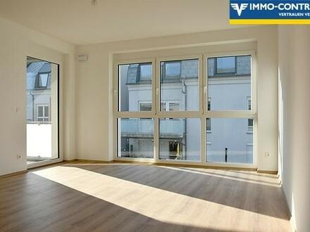 NEUE 2-Zimmer- Balkon-Whg - inkl.Heizung u.Tiefgarage