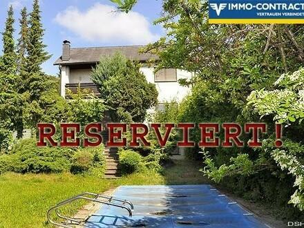 RESERVIERT!: Wohnen in Uninähe mit Garten - Südterrasse - Pool - Garage