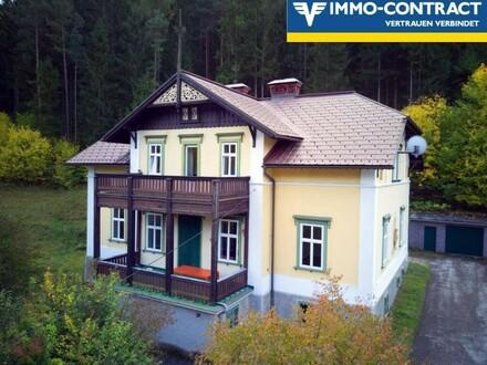 Stilvolle Villa mit Eigenwald, ruhig und sonnig gelegen