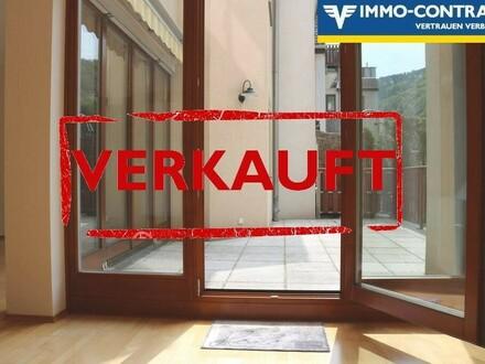 NEU   Krems-Rehberg: Terrassenwohnung im Grünen