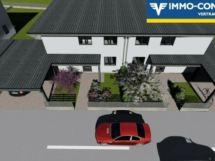 Doppelhaushälfte mit Carport und Eigengarten in Petzenkirchen