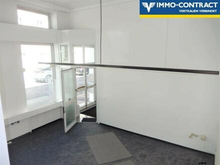 Büro oder Praxis mit kleiner möglicher Ausstellungsfläche