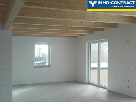SCHNÄPPCHENWOHNUNG! Dachgeschosswohnung mit großem Balkon in neu errichtetem Einfamilienhaus