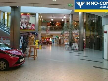 Einzelhandelsflächen ab 43m² möglich - EKZ in Zentrumslage - Pacht