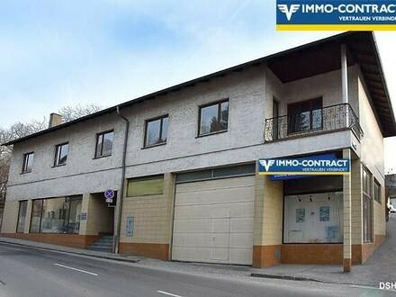 Wohn - Geschäftshaus im Zentrum - Gartenanlage - Parkplatz - auch teilbar!