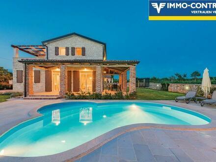 ISTRIEN - STIFANICI - Villa mit Pool, Garten, Außen Küche