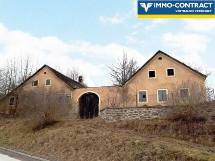 Bauernhaus - Abrissobjekt - Baugrund