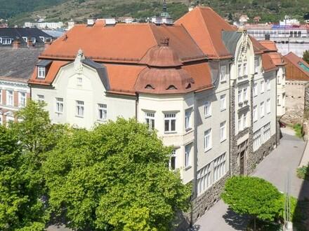 Historisches Stadthaus + 470m² Rohdachboden, MwSt. ausweisbar