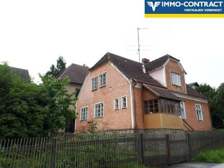 Ehemalige Tischlerei + Wohnhaus- sanierungsbed.