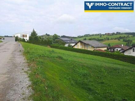 Baugrundstück mit Aussichtslage für zukünftiges Eigenheim