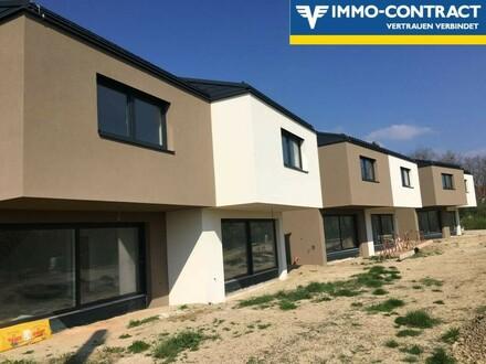Neue Doppelhaushälfte in Massivbauweise (Niedrigenergie)
