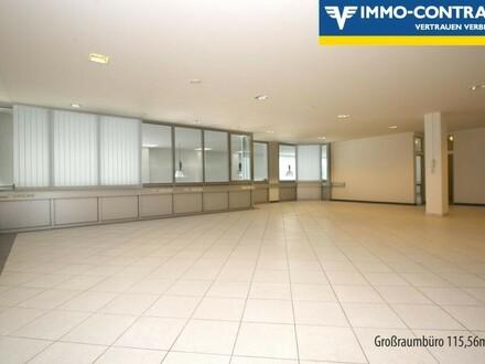 Moderne, helle und voll klimatisierte Büros sowie ein Personenlift
