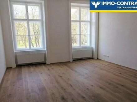 RESERVIERT!! ERSTBEZUGSWOHNUNG: Zentraler Start ins Leben - Wohnen am Stadtpark...