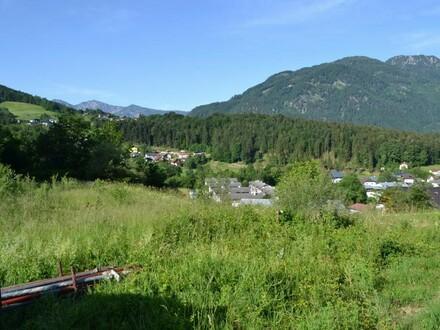 Baugrundstück in begehrter Wohnlage in Bad Ischl