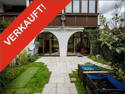 Sonnige Wohnung in ruhiger Lage - mit schönem privatem Garten - auch Ferienwohnung!