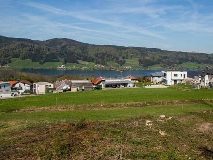 Sonniges Grundstück mit Blick auf den Irrsee - direkt am Grünland - mehr Lebensqualität für Sie und Ihre Familie!