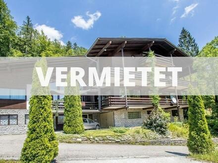 3 Zi. Wohnung in ruhiger und sonniger Waldrandlage!