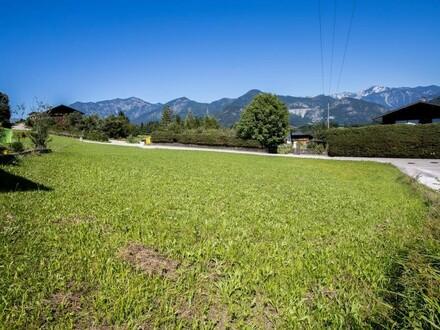 Besichtigungstermin am Samstag, 21. September um 14 Uhr! Baugrundstück mit Panoramablick in Bad Ischl!