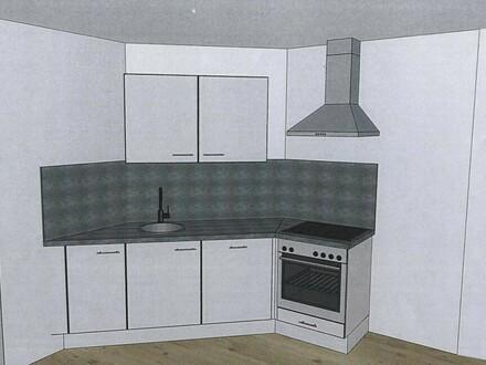Schöne Mietwohnung mit neuer Küche im Ortszentrum - Bruttomiete 478,5 €