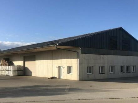 Großzügige Lagerhalle mit Bürofläche im Gewerbepark