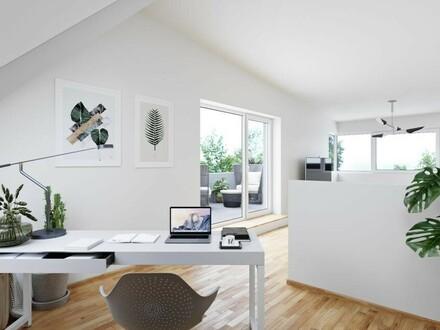"""+++ BAUSTART +++ Dachterrasse, Eigengarten und unterkellert - Top Reihenhaus in Perg """"Central Village"""""""