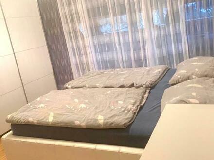 Helle Wohnung mit Balkon und Loggia