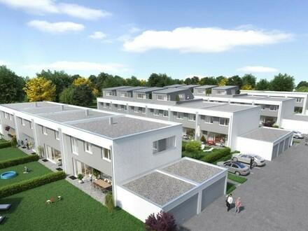 """+++ECKREIHENHAUS+++ Dachterrasse, Eigengarten und unterkellert - Top Reihenhaus in Perg """"Central Village"""""""