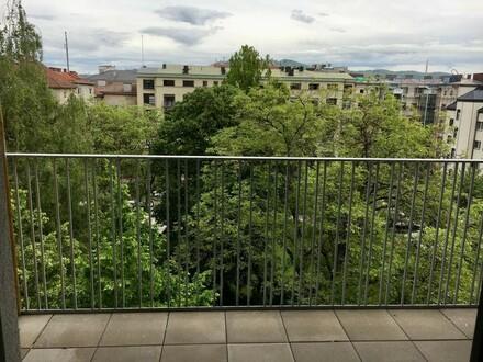 Neubau 2-Zimmer Wohnung mit hofseitigem Balkon | Linz, Innere Stadt