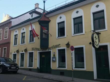 Traditionelles Wiener Wirtshaus mit großem Gastgarten und Veranstaltungssaal