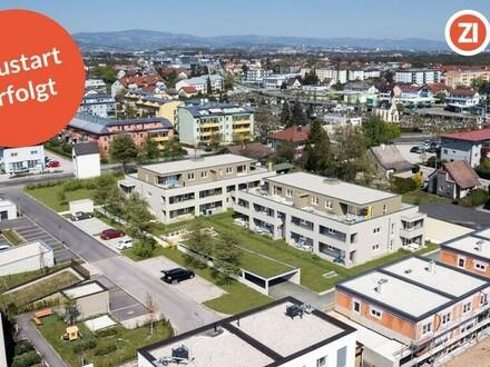 Wohntraun(m) - Neubau 2 ZI Gartenwohnung - Zentrumslage