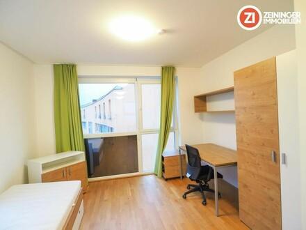 *1 MONAT MIETFREI!* Ideales 2-ZI Appartment - vollmöbliert - mit Balkon - Nähe MED Uni