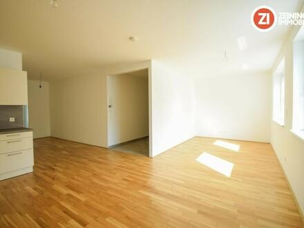 ACHTUNG! NEUER PREIS! Helle Neubau 2 ZI-Wohnung mit Küche u. Garten - Erstbezug