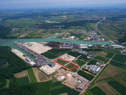 40.880 m² INDUSTRIEGRUNDSTÜCK AM ENNSHAFEN