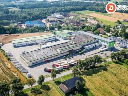 Gewerbepark Gunnersdorf in einmaliger Lage