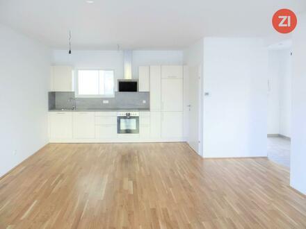 Moderne Neubau 2 ZI-Wohnung mit Küche u. Garten - Erstbezug