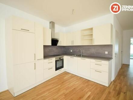Helle Neubau 2 ZI-Wohnung mit Küche u. Garten - Erstbezug