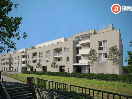 *D46* 4- Zimmer Wohnung mit Dachterrasse und Balkon