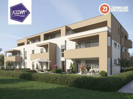 BAUSTART BEREITS ERFOLGT - Wohntraun(m) 2.0 - Neubau 2-Zimmer Gartenwohnung
