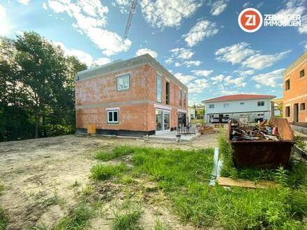 Baulos 3 - Geförderte Doppelhaushälfte mit Keller in Strassham